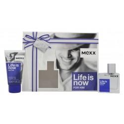 comprar perfumes online MEXX LIFE IS NOW EDT 30 ML + S/G 50 ML SET REGALO mujer