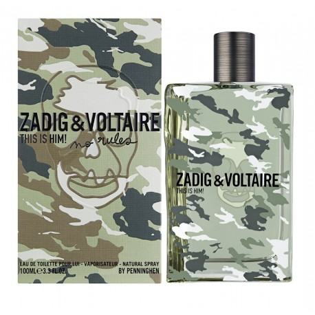 comprar perfumes online ZADIG & VOLTAIRE THIS IS HIM! CAPSULE NO RULES EDT 100 ML mujer