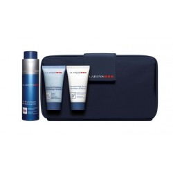 Comprar productos de hombre CLARINS MEN GEL REVITALIZANTE 50 ML + GEL EXFOLIANTE + SHAMPOO + NECESER SET REGALO danaperfumeri...