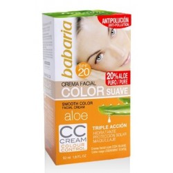 BABARIA CREMA FACIAL CC CREAM SPF-20 50ML