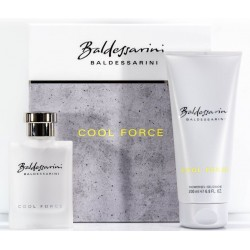 BALDESSARINI COOL FORCE EDT 50ML VAPORIZADOR + GEL DUCHA 200ML SET REGALO