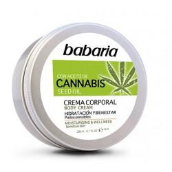 BABARIA CREMA CORPORAL CON ACEITE DE SEMILLAS DE CANNABIS 200ML danaperfumerias.com/es/