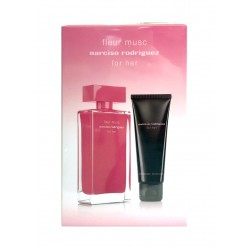 NARCISO RODRIGUEZ FLEUR DE MUSC EDP 100 ML + B/L 75 ML SET REGALO