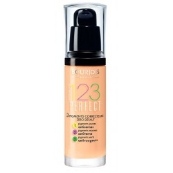 BOURJOIS 123 PERFECT FOUNDATION 055 DARK BEIGE 30 ML