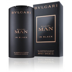 comprar perfumes online BVLGARI MAN IN BLACK SHAMPOO & SHOWER GEL 200 ML mujer