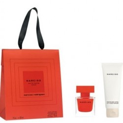 NARCISO RODRIGUEZ NARCISO ROUGE EDP 30 ML + BODY LOTION 75 ML SET REGALO