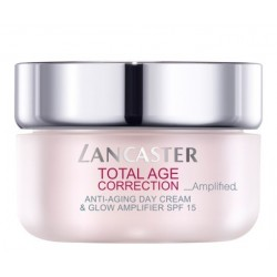 Comprar tratamientos online LANCASTER TOTAL AGE CORRECTION ANTI-AGING DAY CREAM GLOW & AMPLIFIER 50 ML
