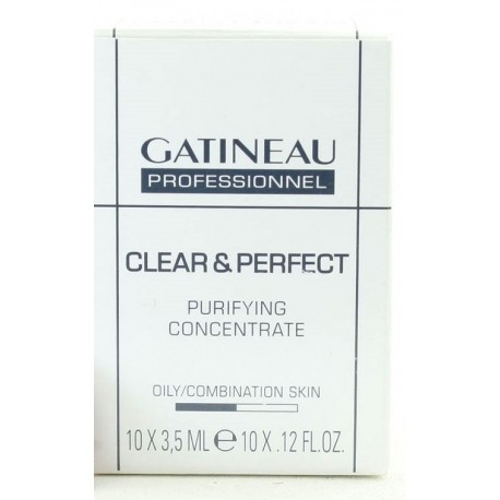 GATINEAU CLEAR & PERFECT CONCENTRATE 10 X 3,5 ML