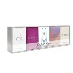 comprar perfume CALVIN KLEIN 5 MINIATURAS SET REGALO danaperfumerias.com