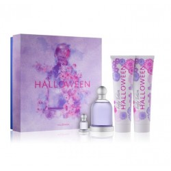 comprar perfumes online JESUS DEL POZO HALLOWEEN EDT 100 ML + MINI 4.5 ML + B/L 150 ML + GEL 150 ML SET REGALO mujer