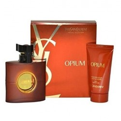 YSL OPIUM EDT 50 ML + B/L 50 ML SET REGALO