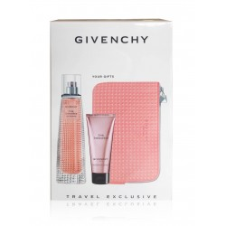 GIVENCHY LIVE IRRESISTIBLE EDP 75 ML + B/C 75 ML + NECESER SET REGALO