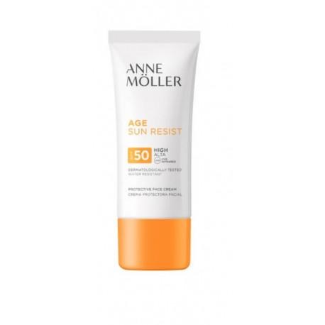 ANNE MOLLER AGE SUN RESIST CREMA FACIAL SPF 50 50 ML danaperfumerias.com