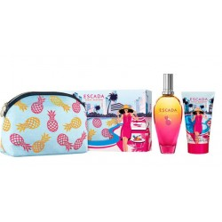 comprar perfume ESCADA MIAMI BLOSSOM EDT 100 ML + BODY LOTION 150 ML + NECESER SET danaperfumerias.com