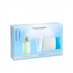 comprar perfume EAU DE LANCASTER EDT 75 ML + B/L 200 ML + NECESER SET REGALO danaperfumerias.com