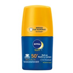NIVEA SUN ROLL-ON ROSTRO & CUERPO SPF 50+ 250 ML danaperfumerias.com/es/