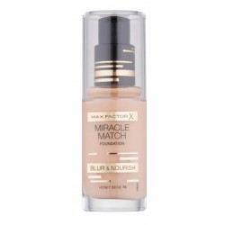 MAX FACTOR MIRACLE MATCH BLUR & NORISH BASE DE MAQUILLAJE 79 BEIGE 30ML
