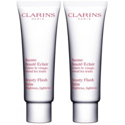 CLARINS BEAUTY FLASH BALM BALSAMO BELLEZA RELAMPAGO 2X50 ML