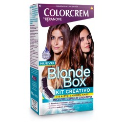 COLORCREM BY KERANOVE BLONDE BOX KIT CREATIVO danaperfumerias.com/es/