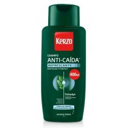 Comprar productos de hombre KERZO CHAMPÚ ANTI-CAÍDA REFRESCANTE 400ML danaperfumerias.com