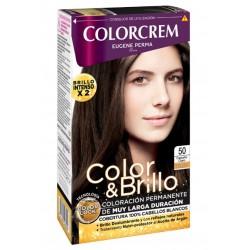 COLORCREM COLOR & BRILLO TINTE CAPILAR 50 CASTAÑO CLARO danaperfumerias.com/es/