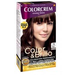COLORCREM COLOR & BRILLO TINTE CAPILAR 74 MARRON MOKA danaperfumerias.com/es/