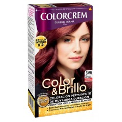 COLORCREM COLOR & BRILLO TINTE CAPILAR 6.66 CHOCOLATE ROJO INTENSO danaperfumerias.com/es/