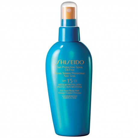 SHISEIDO SUN PROTECTION SPF 15 SPRAY 150 ML danaperfumerias.com/es/