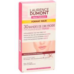 LAURENCE DUMONT BANDAS DEPILATORIAS FACIALES 30 UNIDADES danaperfumerias.com/es/