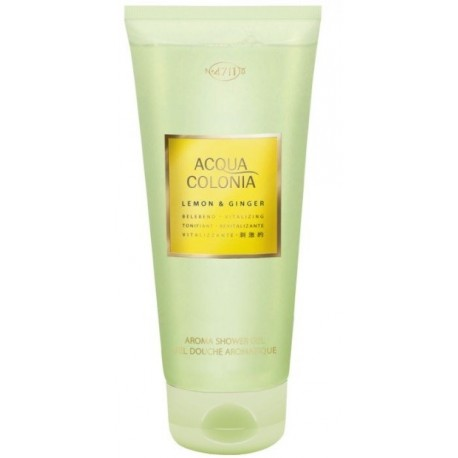 comprar perfumes online 4711 ACQUA COLONIA LEMON & GINGER SHOWER GEL 200ML mujer