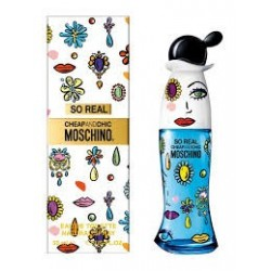 comprar perfumes online MOSCHINO CHEAP & CHIC SO REAL EDT 100 ML mujer