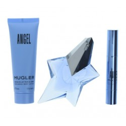 comprar perfumes online THIERRY MUGLER ANGEL EDP 25 ML + BODY LOCION 50 ML + MINI 3 GR. SET REGALO mujer