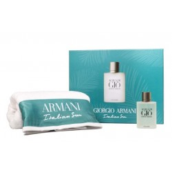 GIORGIO ARMANI ACQUA DI GIO EDT 100 ML + TOALLA SET REGALO https://danaperfumerias.com/es/