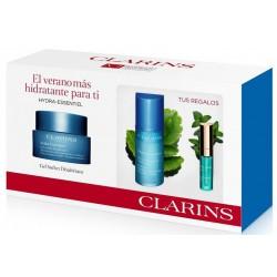CLARINS HYDRA ESSENTIEL GEL SORBET DESALTERANT 50 ML+HYDRA ESSENTIEL BI-SERUM 15ML+BALSAMO SET REGALO https://danaperfumerias...