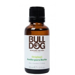 BULLDOG ORIGINAL ACEITE PARA BARBA 30ML