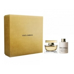 DOLCE & GABBANA THE ONE EDP 75 ML + B/L 100 ML SET REGALO