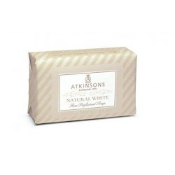 ATKINSONS PASTILLA JABON NATURAL WHITE 125 GR danaperfumerias.com/es/