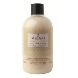ATKINSONS ESPUMA DE BAÑO NATURAL WHITE 500 ML