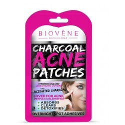 Comprar tratamientos online BIOVENE CHARCOAL ACNE PATCHES (24 UNIDADES)