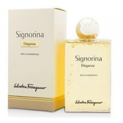 SALVATORE FERRAGAMO SIGNORINA ELEGANZA SHOWER GEL 200ML