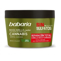 BABARIA MASCARILLA CAPILAR REPARADORA DE CANNABIS 200 ML