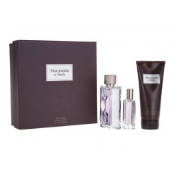 comprar perfumes online hombre ABERCROMBIE & FITCH FIRST INSTINCT EDT 100 ML + MINI 15 ML +BODY WASH 200 ML SET REGALO