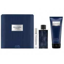 comprar perfumes online hombre ABERCROMBIE & FITCH FIRST INSTINCT BLUE EDT 100 ML + MINI 15 ML + S/GEL 200 ML SET REGALO