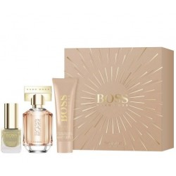 comprar perfumes online HUGO BOSS BOSS THE SCENT FOR HER EDP 30 ML + B/LC 50 ML + LACA UÑAS 4.5 ML SET mujer