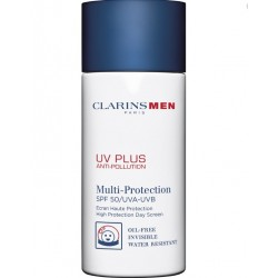 CLARINS MEN UV PLUS ANTIPOLUCIÓN SPF50 UVA/UVB 50 ML
