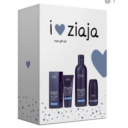 ZIAJA MEN CREMA FACIALSPF6 50ML+GEL 300ML + DESODORANTE 60ML SET REGALO