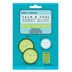 SUGU BEAUTY CUCUMBER SHEET MASK