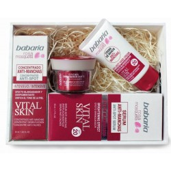 BABARIA ROSA MOSQUETA CREMA DESPIGMENTANTE 50ML+SERUM 50ML+CONCENTRADO 30ML+CREMA MANOS 50 ML SET REGALO