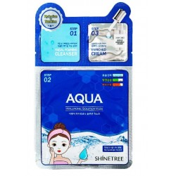 SHINETREE AQUA HYALURONIC SOLUTION MASK