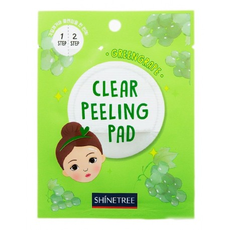 SHINETREE GREEN GRAPE CLEAR CLEANING PAD